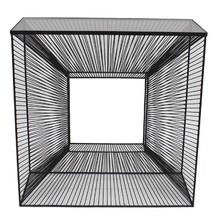 Konsola metalowa 3D TOYJ19-213 80x35x81 cm - czarny