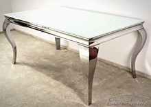 Stół TH780 150x90 - białe szkło