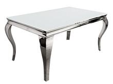 Stół TH780-1 200x100 - białe szkło