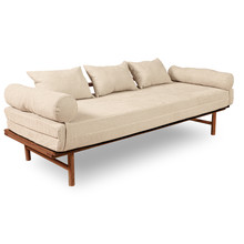 Sofa rozkładana LE MAR - krem