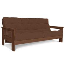 Sofa rozkładana MEXICO - orzech/brąz