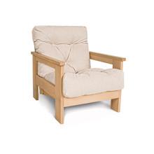 Fotel MEXICO - naturalny/krem