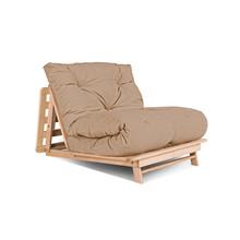 Sofa rozkładana futon LAYTI 90 - beż