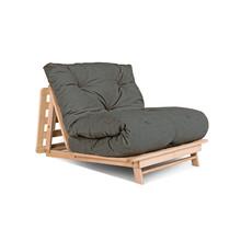 Sofa rozkładana futon LAYTI 90 - popiół