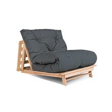 Sofa rozkładana futon LAYTI 90 - grafit