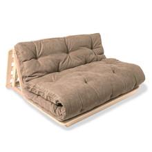 Sofa rozkładana futon LAYTI 140 - beż