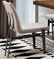 Krzesło nowoczesne N-6273 46x64x86 cm - jasnoszary