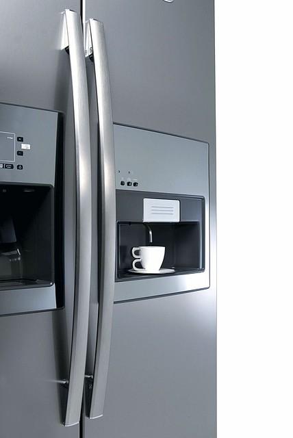 Nowoczesna architektura Zapraszam na kawę..... do lodówki. - Kuchnie.pl BI88