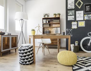 5 pomysłów na aranżację biura w domu