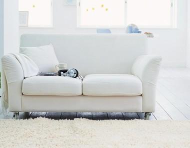 Biała podłoga w domu