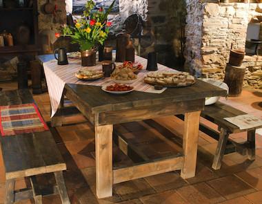 Jak urządzić kuchnię w wiejskim domu?