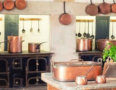 Kuchnia w stylu rustykalnym - dodatki