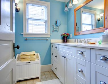 Niebieska łazienka czyli odświeżenie i odprężenie!