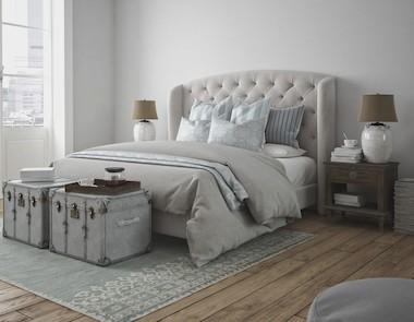 Pomysły na pikowany zagłówek łóżka