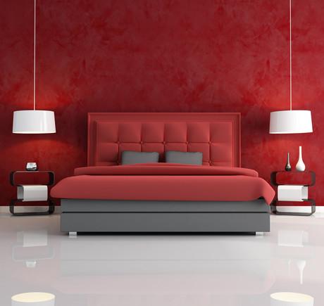 Sypialnia W Kolorze Czerwonym 5 Pięknych Inspiracji