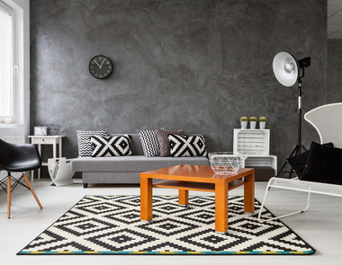 Geometria we wnętrzach - 3 sposoby na wprowadzenie jej do mieszkania