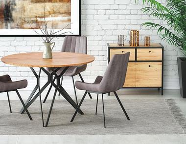 Okrągły stół do jadalni - jakie są zalety takiego rozwiązania?