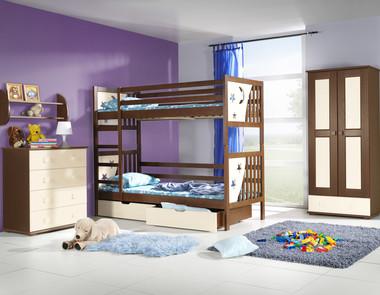 Jakie łóżka dla rodzeństwa - dwa czy jedno piętrowe?