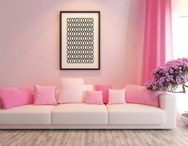 Różowe akcenty we wnętrzach - jak je wprowadzać?