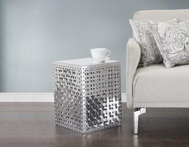 Dekoracje i meble z aluminium czyli błyszczące akcenty we wnętrzu