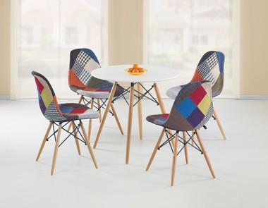 Krzesło patchworkowe niejedno ma imię