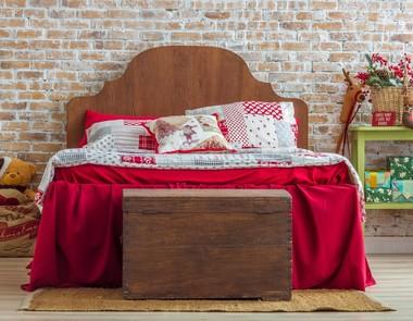 Świąteczna sypialnia - 4 cudowne inspiracje