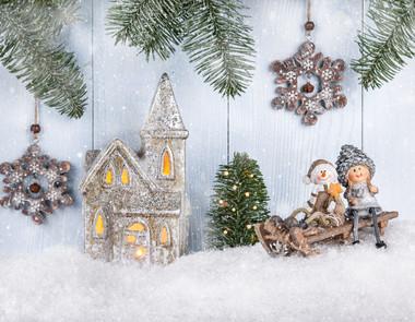 Dekoracje świąteczne do pokoju dziecięcego