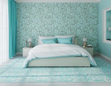 Sypialnia w kolorze niebieskim - 4 piękne aranżacje