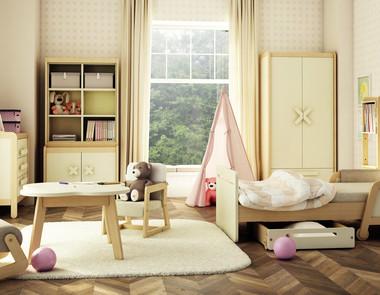 Pokój dla dziewczynki - jakie wybrać meble, dodatki i kolory?