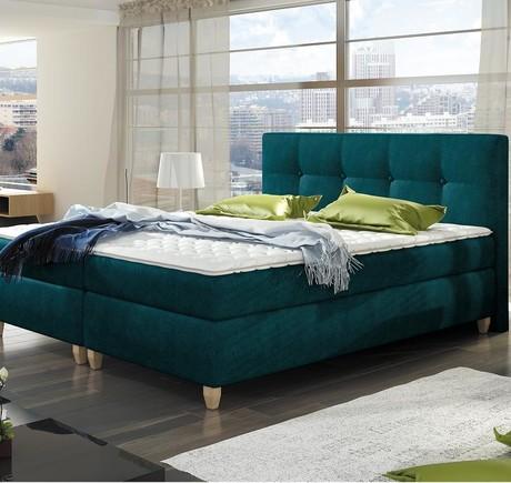 łóżka Kontynentalne Gwarancja Spokojnego Snu Sypialnia