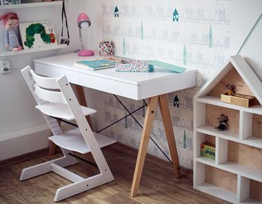 Kącik do nauki u dziecka w pokoju - jak urządzić?