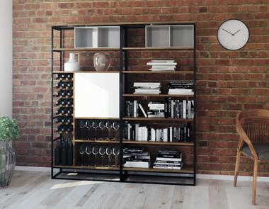 Regał z książkami - zbędny, czy niezbędny mebel w mieszkaniu?