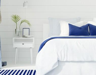 Sypialnia w stylu marynistycznym - morski spokój w Twoim domu