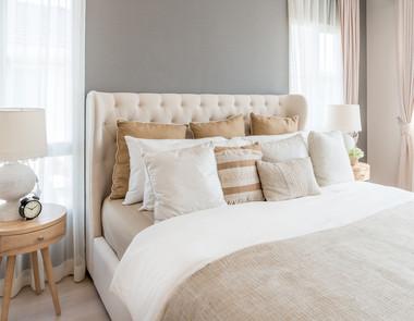 Styl Hampton – sypialnia w amerykańskim stylu