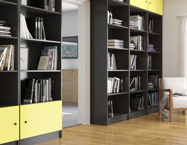 Funkcjonalne regały biblioteczne na co dzień