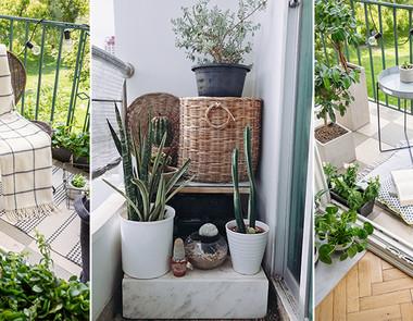 Wiosenny balkon - inspiracje