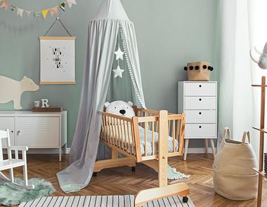 Miętowy pokój dziecka