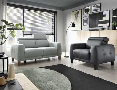 Nieśmiertelna sofa tapicerowana do każdego rodzaju wnętrza