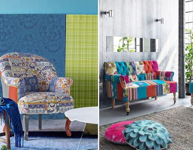 Patchwork we wnętrzach – jak wprowadzić styl do swojego domu?
