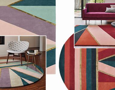 Pomysł na dywan w paski