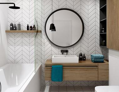 Półki do łazienki, czyli jak zmieścić całą kosmetyczkę na jednej półce