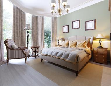 Sypialnia w stylu angielskim - pomysły i aranżacje