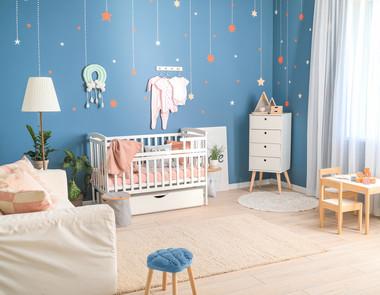 Pokój dla niemowlaka - aranżacje
