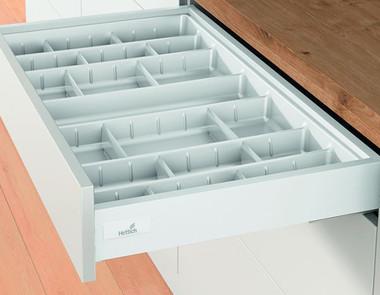 Zorganizowana kuchnia, czyli wkłady do szuflad