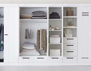Wielozadaniowe szafy do sypialni