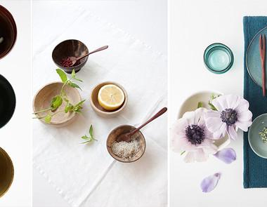 Kuchenne dodatki — kubki, miski i półmiski