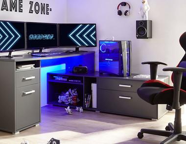 Fotel dla gracza komputerowego