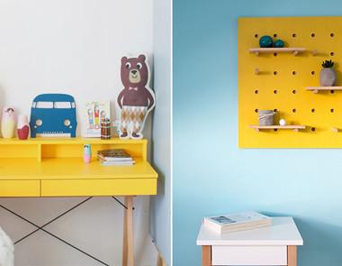 Żółty pokój dla dziecka