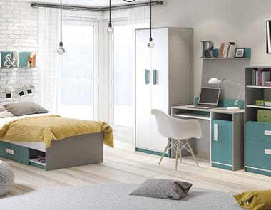 Mały pokój dla dwójki dzieci