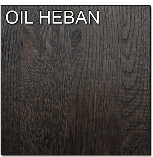 Drewno olejnowane - HEBAN